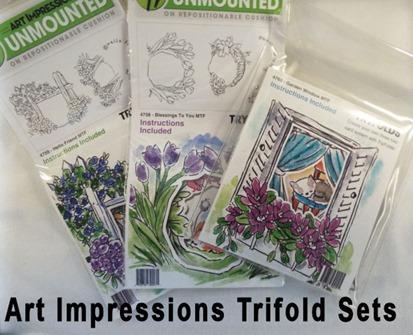 Art Impressions Trifolds