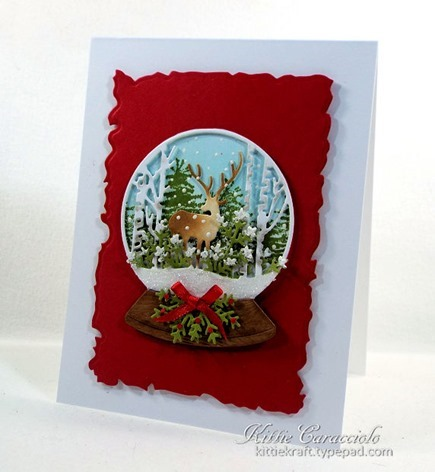 KC Impression Obsession Deer Snowglobe 1 right