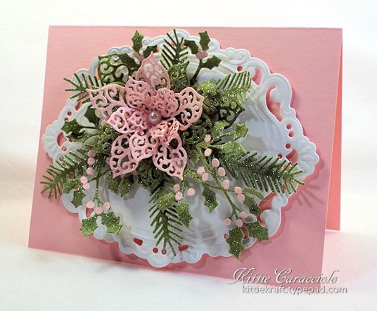 KC Creative Expressions Filigree Poinsettia 1 right'