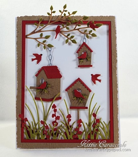 KC Memory Box Birdhouse Village 1 center