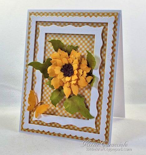 KC Elizabeth Craft Sunflower 1 right