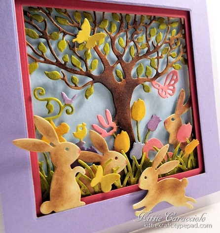 KC Impression Obsession Easter Cutout Square 2 side close