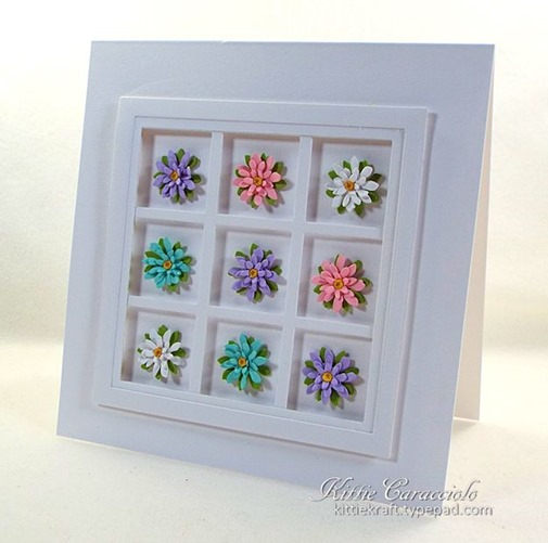 KC Elizabeth Craft Garden Patch 1 Inch Mini Daisy and Chrysanthemum 1 right