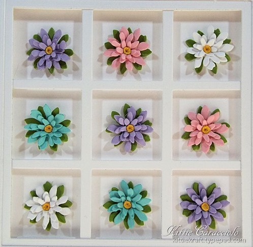 KC Elizabeth Craft Garden Patch 1 Inch Mini Daisy and Chrysanthemum 1 close 2