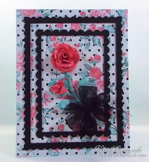 KC Elizabeth Craft Garden Notes Rose 2 center