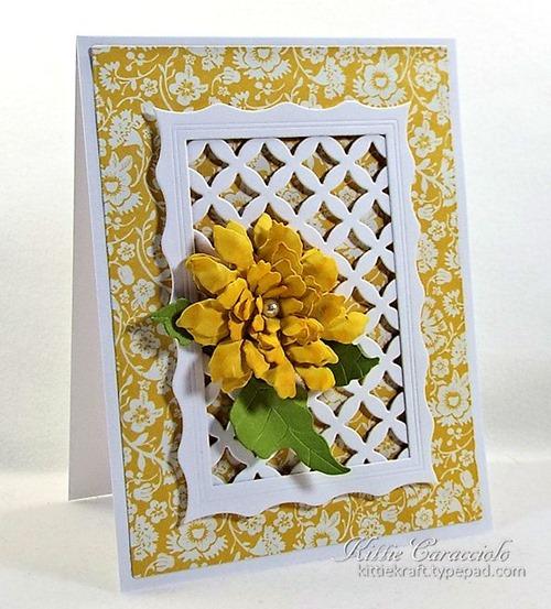 KC Elizabeth Craft Sunflower 2 left
