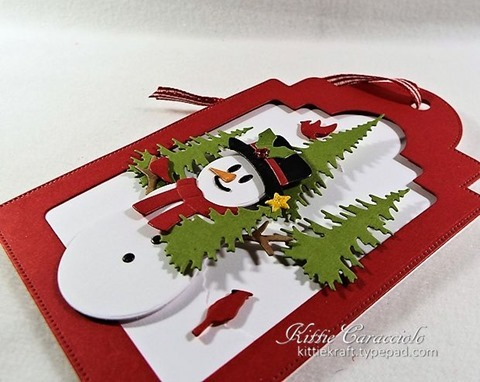 KC Elizabeth Craft Snowman 1 left