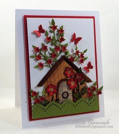 KC Impression Obsession Flower Birdhouse 2 1 left