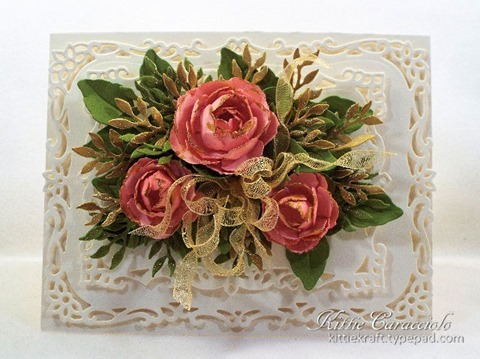 KC Spellbinders Rose Creations 1 center