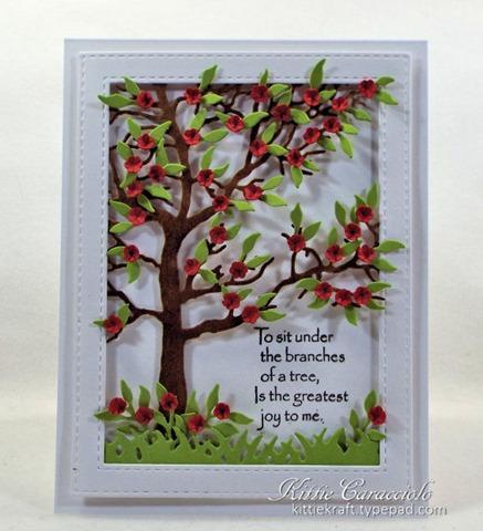 KC Impression Obsession Tree Frame 12 center