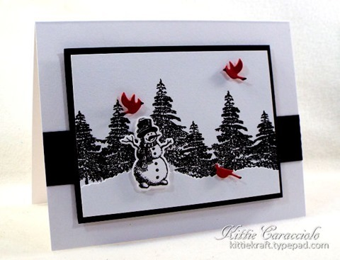 KC Hero Arts Vintage Christmas Wishes 1 left