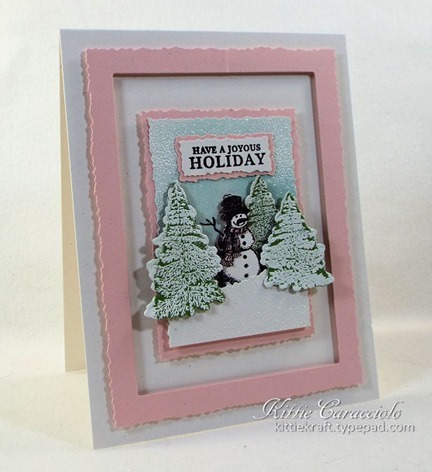 KC Hero Arts Vintage Christmas Wishes 2 left
