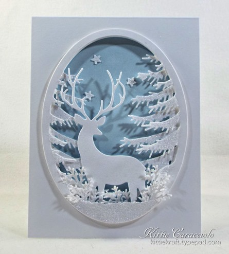 KC Memory Box Grand Stag Oval Frame 1 center