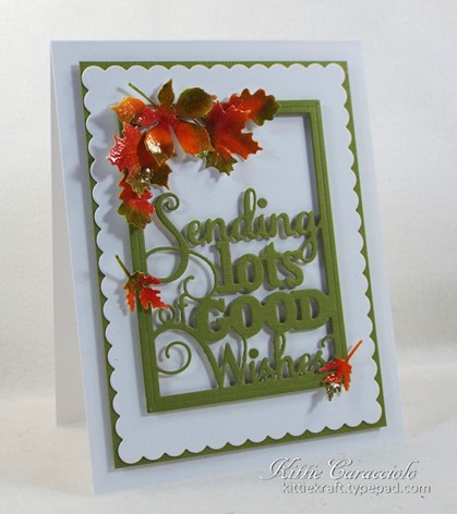 KC Impression Obsession Good Wishes Word Block 3 left