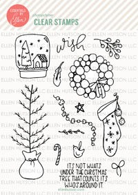 Homespun Holiday_stamps