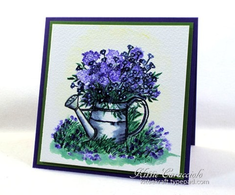 KC Art Impressions Watering Can 1 right