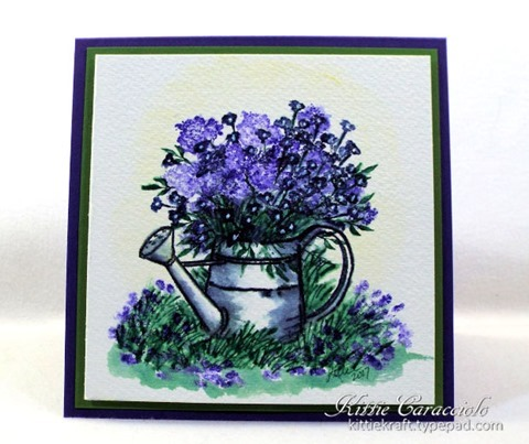 KC Art Impressions Watering Can 1 center