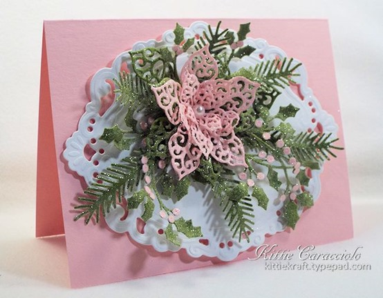 KC Creative Expressions Filigree Poinsettia 1 left