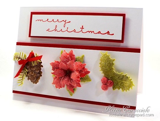 KC Tattered Lace Christmas Florals 1 right