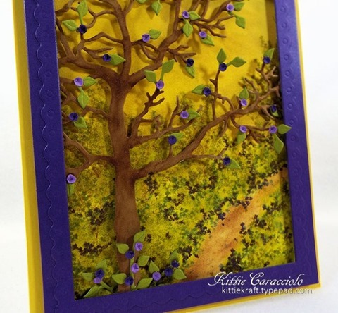 KC Impression Obsession Tree Frame 10 close