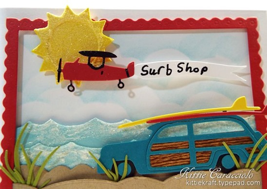 KC Impression Obsession Woody with Surfboard 2 close