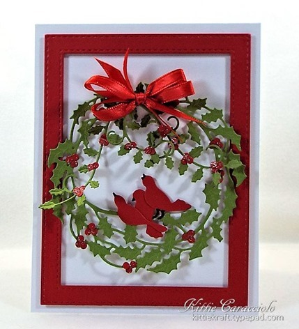 KC Impression Obsession Holly Wreath 2 center