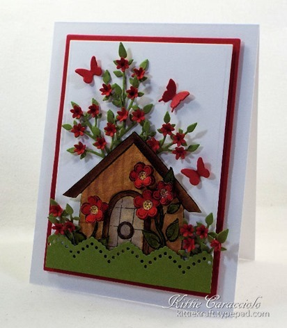 KC Impression Obsession Flower Birdhouse 2  1 right