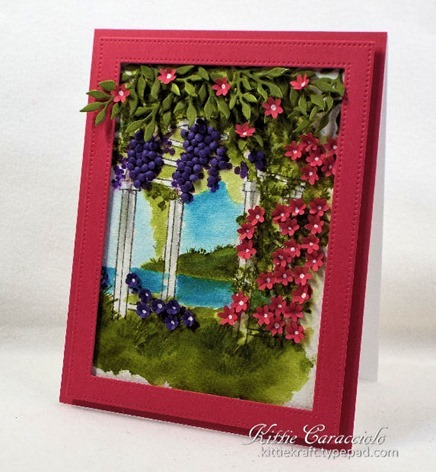 KC Art Impressions Watercolor Arbor 1 right