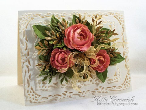 KC Spellbinders Rose Creations 1 left