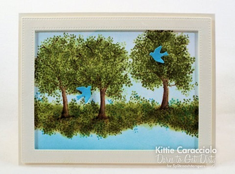 KC Art Impressions WC Tree Set center
