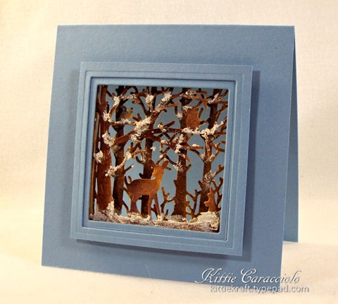 KC Penny Black Woodland Scene 1 right