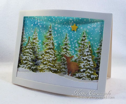 KC Hero Arts Color Layering Snowy Tree 2 right