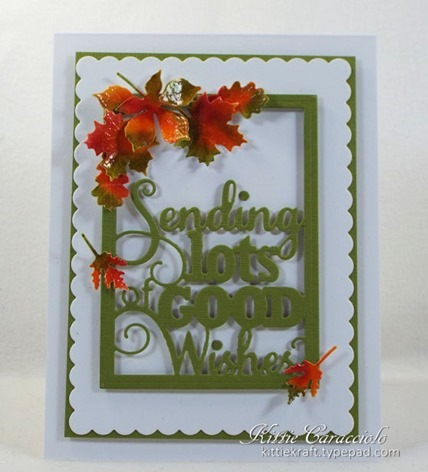 KC Impression Obsession Good Wishes Word Block 3 center