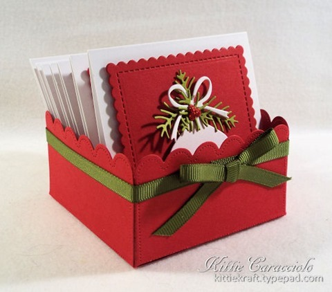 KC Impression Obsession Christmas Shaped Tags 1 box left a