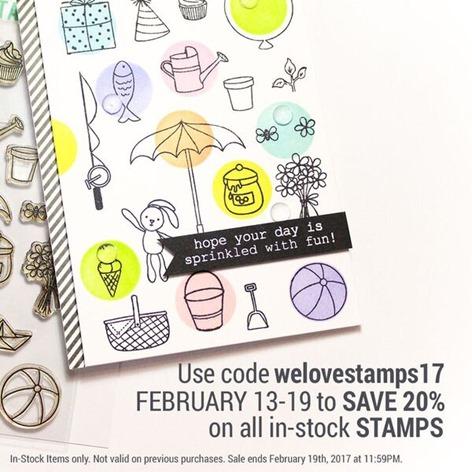 stamp sale ellen