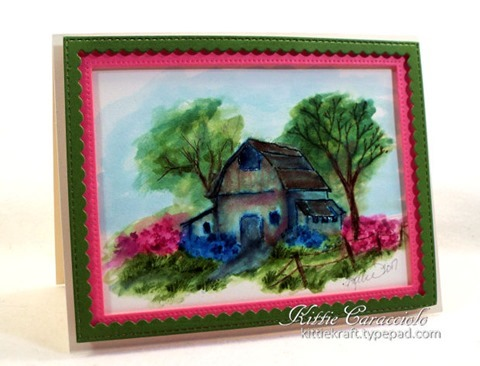 KC Art Impression Old Barn Mini Set 1 left