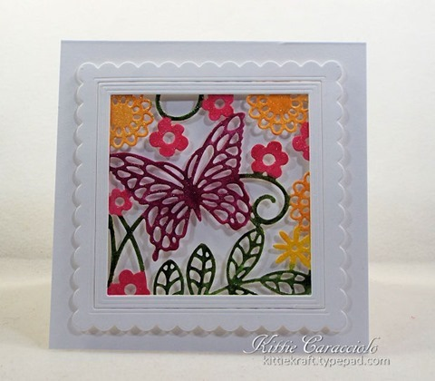 KC Impression Obsession Butterfly Block 7 center