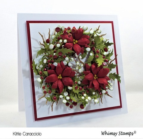 KC Whimsy Shapology Christmas Branch Set 1 left